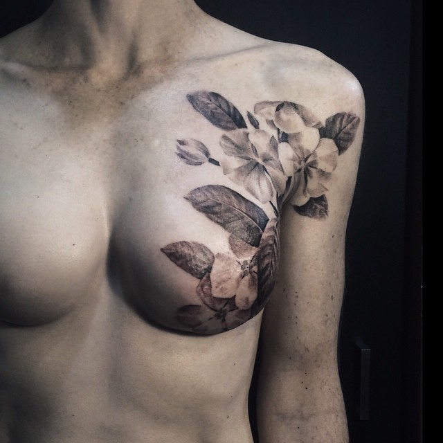 breast cancer tattoo 03