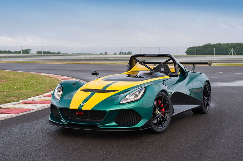 Lotus 3-Eleven made its debut at the Goodwood Festival 1