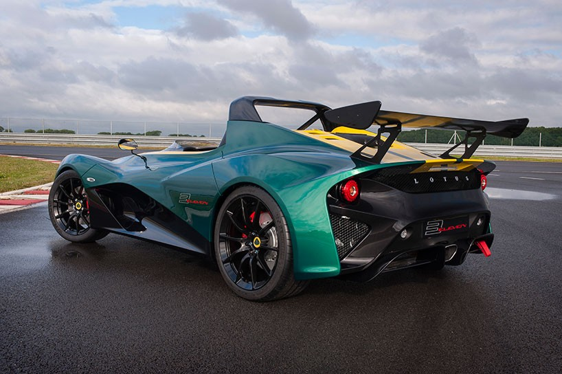 Lotus 3-Eleven made its debut at the Goodwood Festival 2
