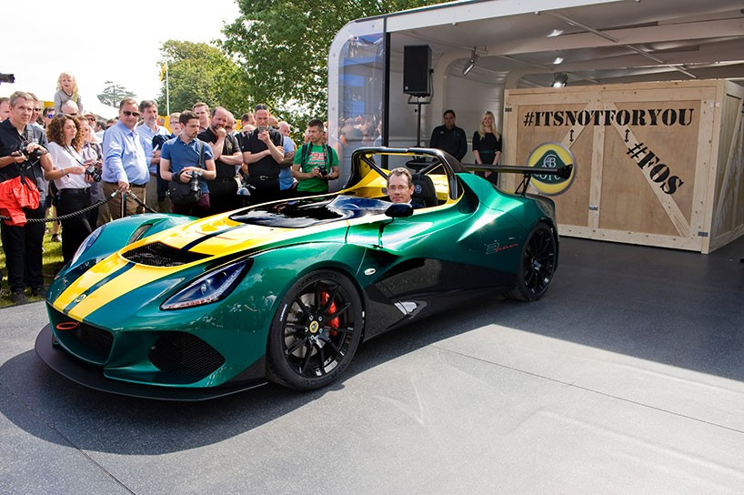 Lotus 3-Eleven made its debut at the Goodwood Festival 3