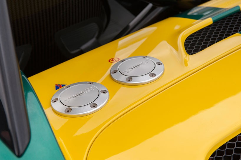 Lotus 3-Eleven made its debut at the Goodwood Festival 7