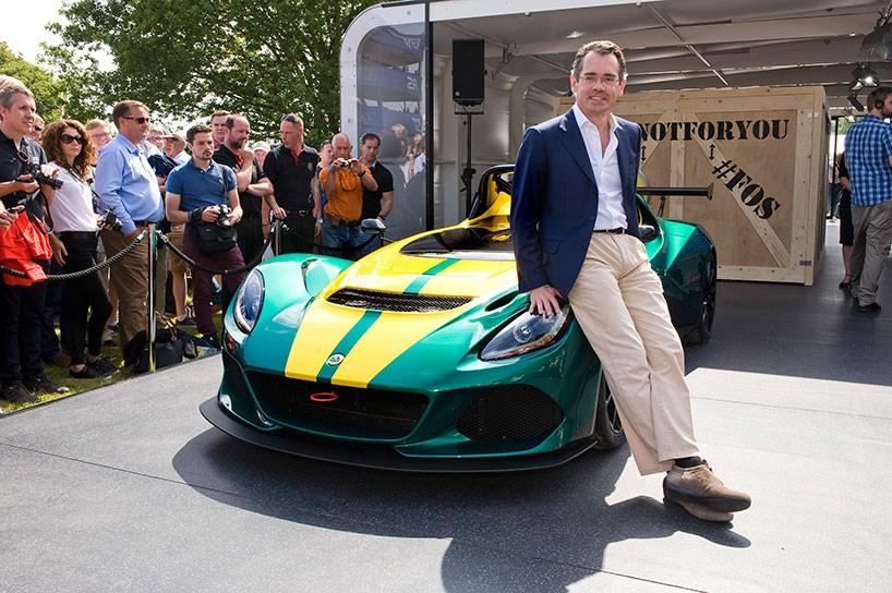 Lotus 3-Eleven made its debut at the Goodwood Festival 8