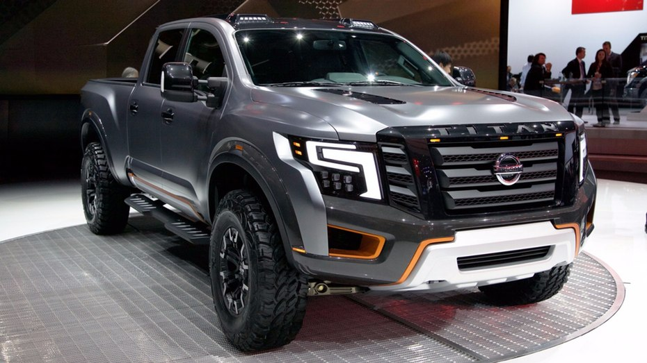 nissan titan warrior concept photos. Black Bedroom Furniture Sets. Home Design Ideas
