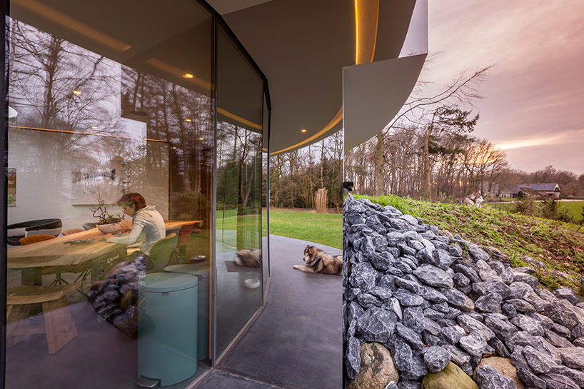 360 villa with panoramic views of the landscape in the netherlands