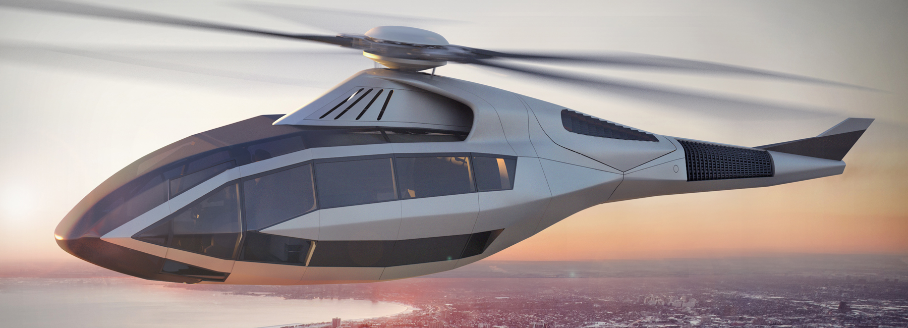 Bell FCX 001 Helicopter Concept Image