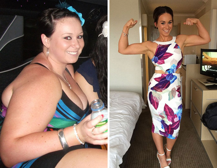 20 Incredible Before-And-After Weight Loss Photos