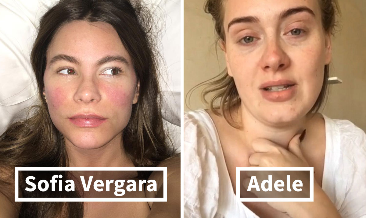 30+ Celebrities Without Makeup Prove They Look No Better Than Us