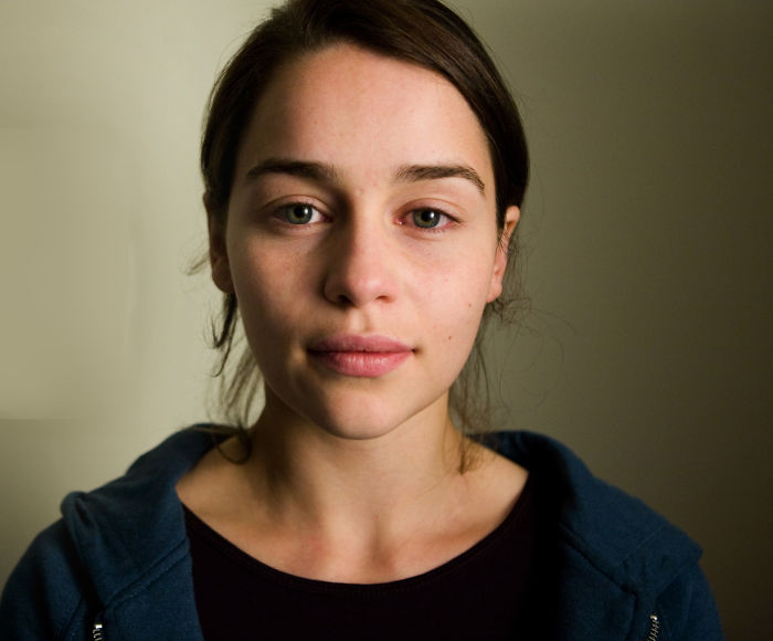 Emilia Clarke Without Makeup