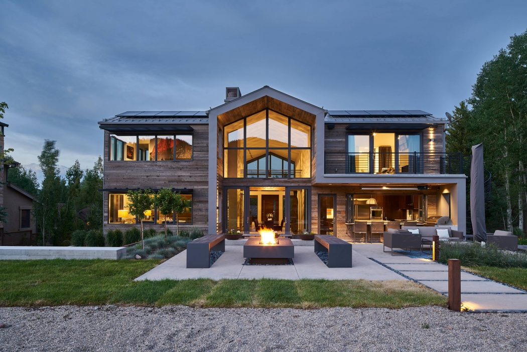 Modern Mountain House By Magleby Construction In Lindon Utah