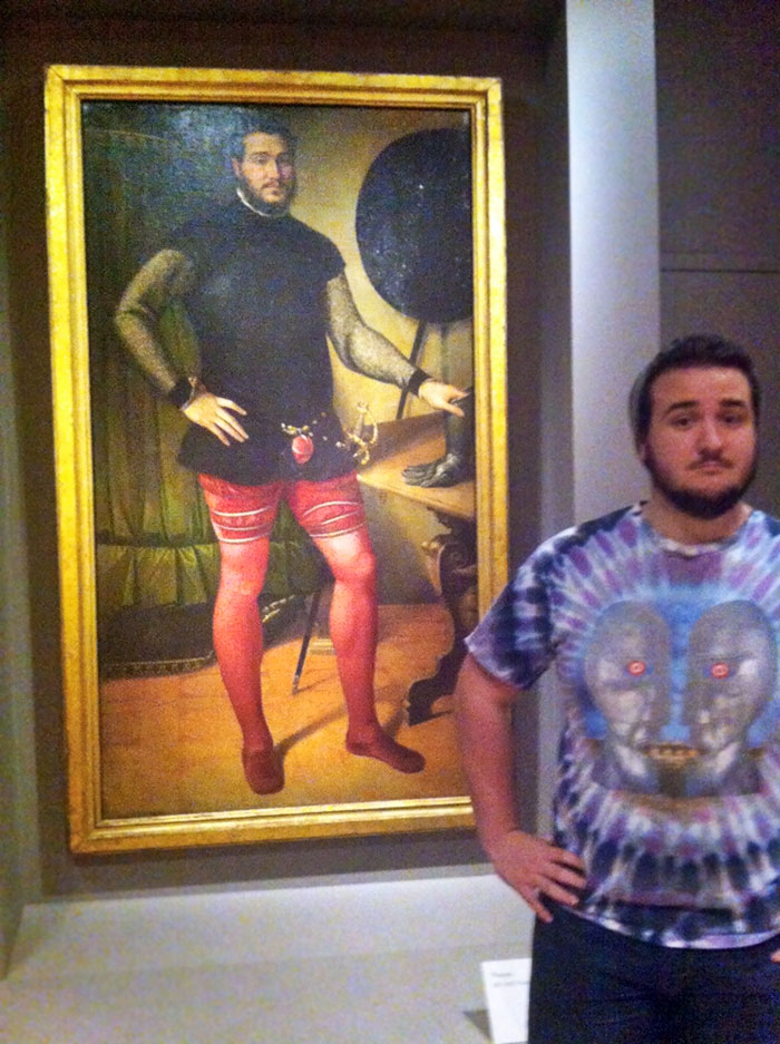 20 Times People Found Their Doppelgangers In Museums
