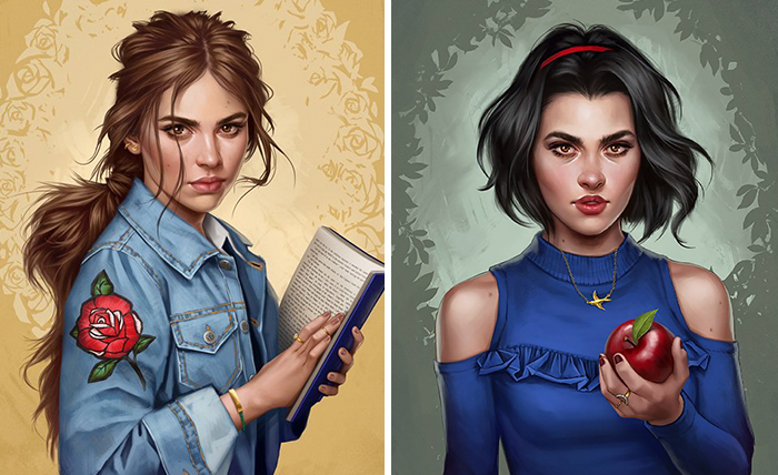 How Disney Princesses Would Look Like If They Lived In 2017 -Photos
