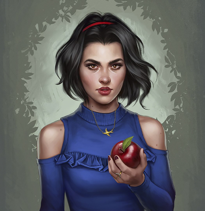 How Disney Princesses Would Look Like If They Lived In 2017 - Snow White