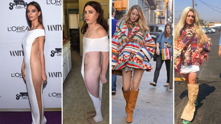 30 Times Celebrity Outfits Hilariously Recreated By Former Buffy Star