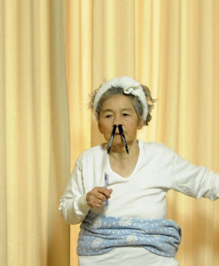 89-Year-Old Shoots Playful Self-Portrait Photography