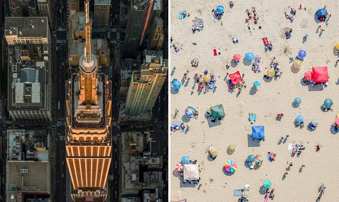 Stunning Aerial Photos Tell the Stories of New York City and Los Angeles From Above20