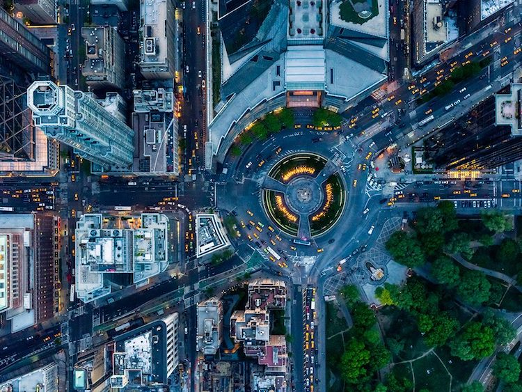 Stunning Aerial Photos Tell the Stories of New York City and Los Angeles From Above2