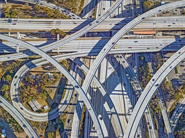 Stunning Aerial Photos Tell the Stories of New York City and Los Angeles From Above