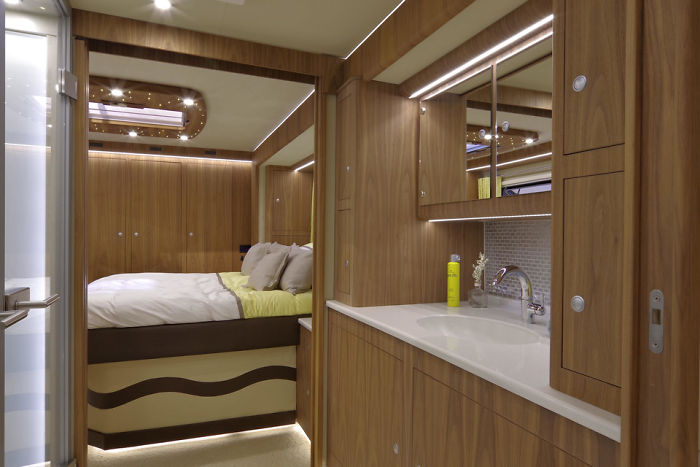 the most luxurious motorhome
