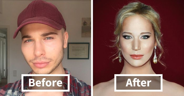 This Man So Good At Makeup, He Can Turn Into Literally Any Celebrity (20 Photos)