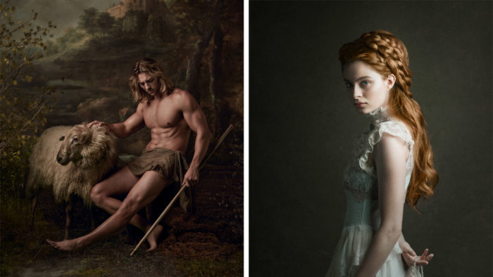 Photographer Creates Amazing Portraits Inspired by Old Painting