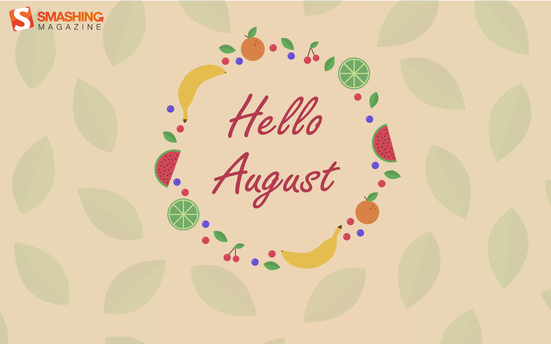 Hello August Desktop Background HQ 1920x1200