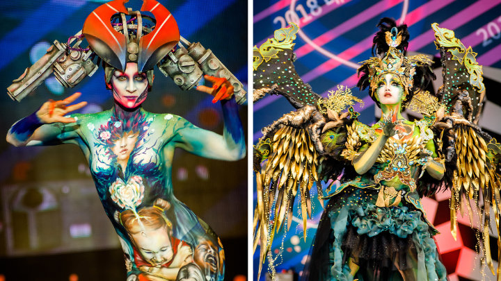 10 Amazing Photos from South Korea Bodypainting Festival 2018