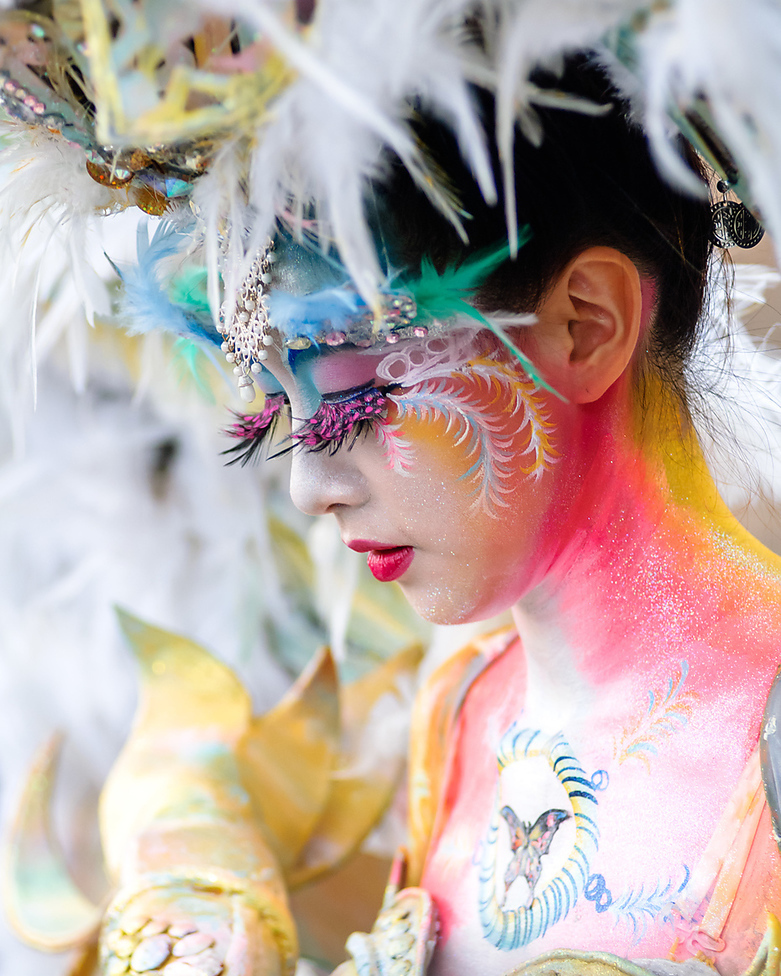 10 Amazing Photos from South Korea Body painting Festival 2018