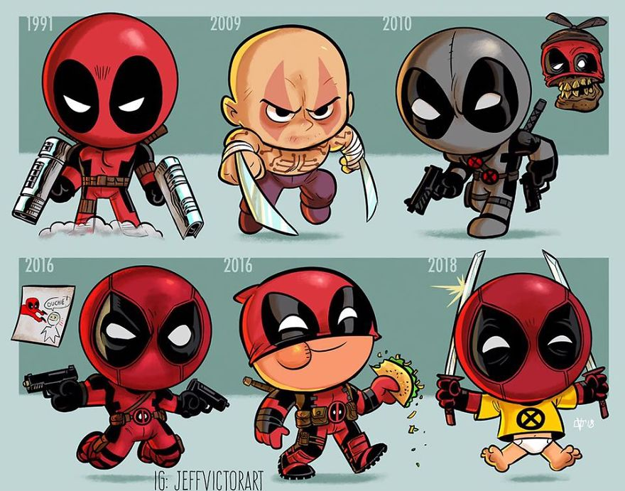 Deadpool The Evolution Of Pop Culture Icons Over The Years