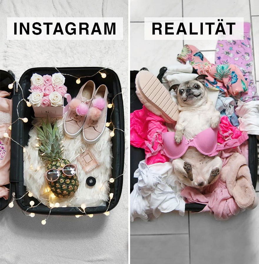Instagram vs. Reality: Women Makes Fun of Those Perfect Instagram Photos