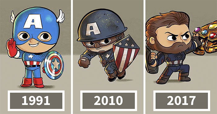 The Evolution Of Pop Culture Icons Over The Years