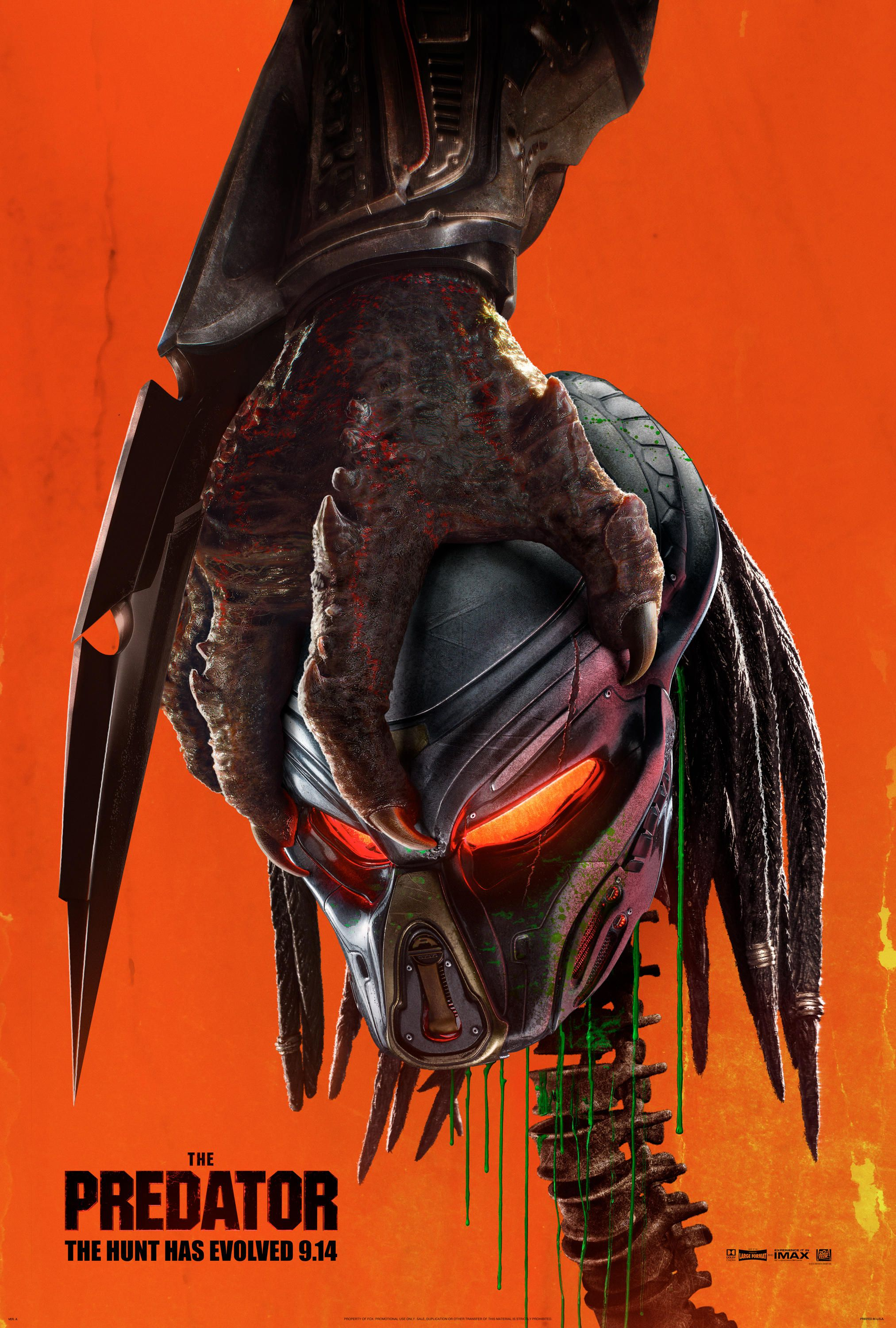 The Predator Movie Poster 2018