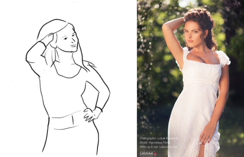 40 Best Poses for Taking Beautiful Photos of Female