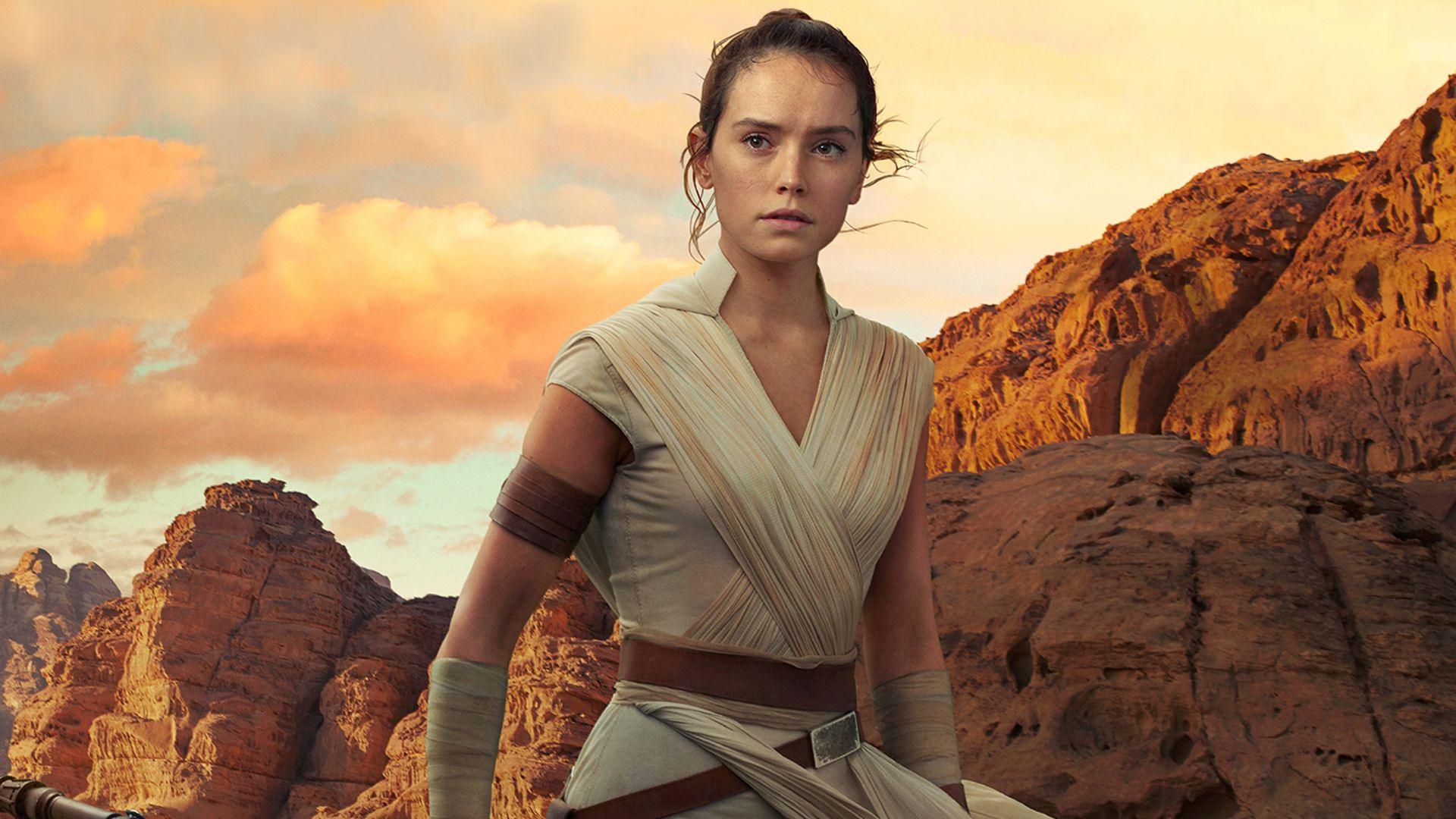 Star Wars The Rise of Skywalker Rey Photo Daisy Ridley Wallpaper 1080p