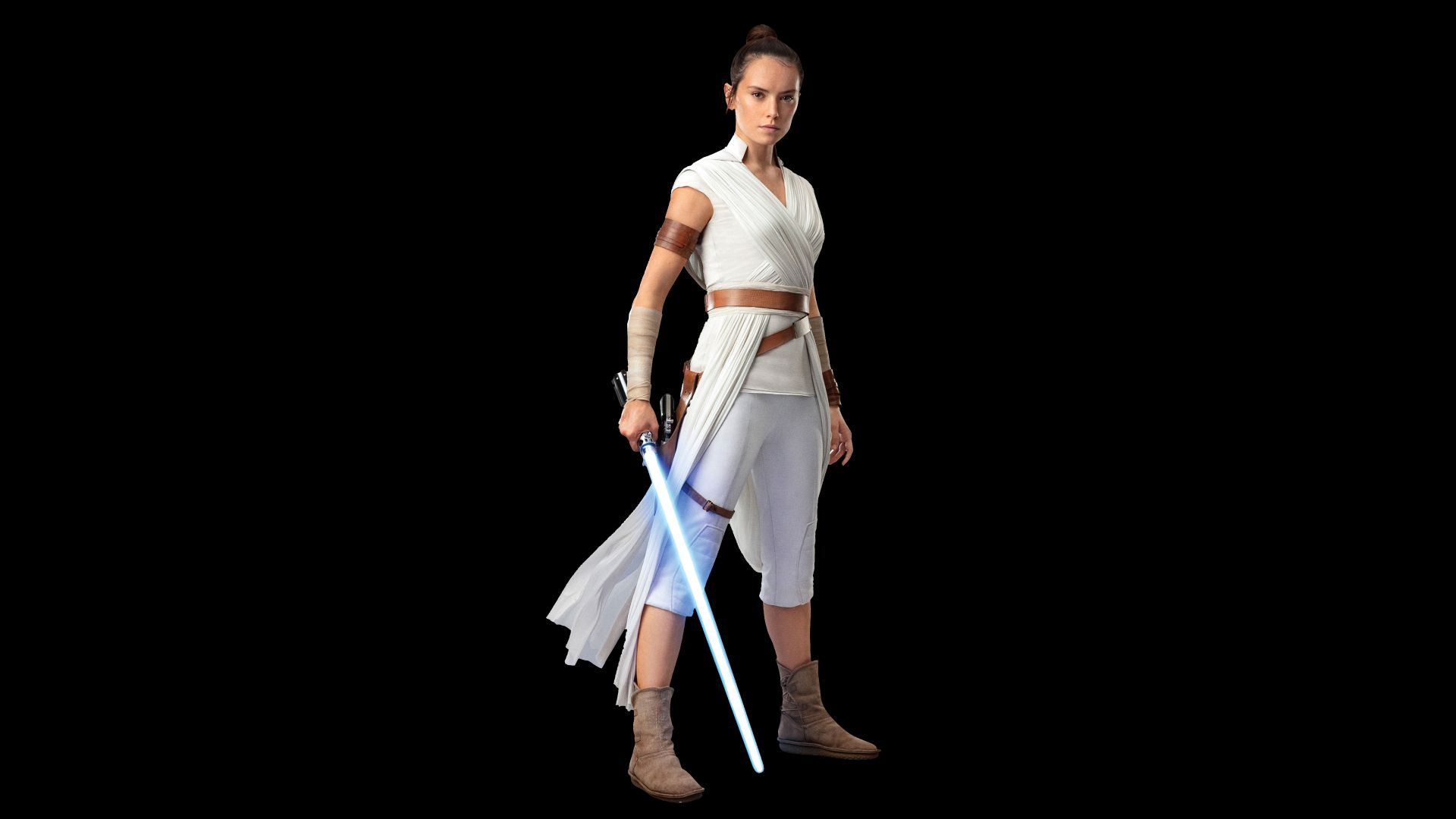 Star Wars The Rise of Skywalker Rey Daisy Ridley Wallpaper
