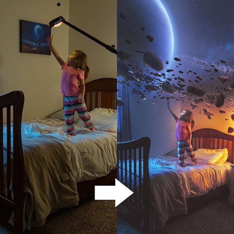 Before and After Photoshop Kevin Carden