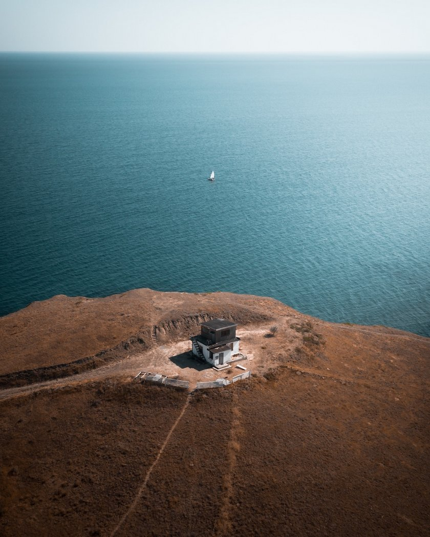 """""""Lonely House"""" by Artem Pikalov, Russia. Location: Crimea, Russia"""